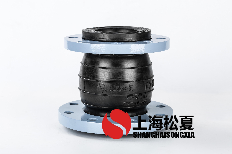 DN100*80同心异径橡胶挠性接头无负压供水使用